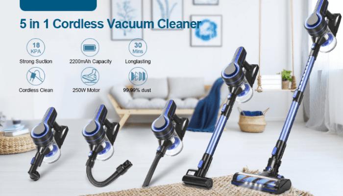 APOSEN Vacuum Cleaner Upgraded Brushless