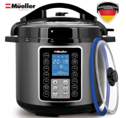 mueller ultrapot 6q pressure cooker instant crock 10 in 1