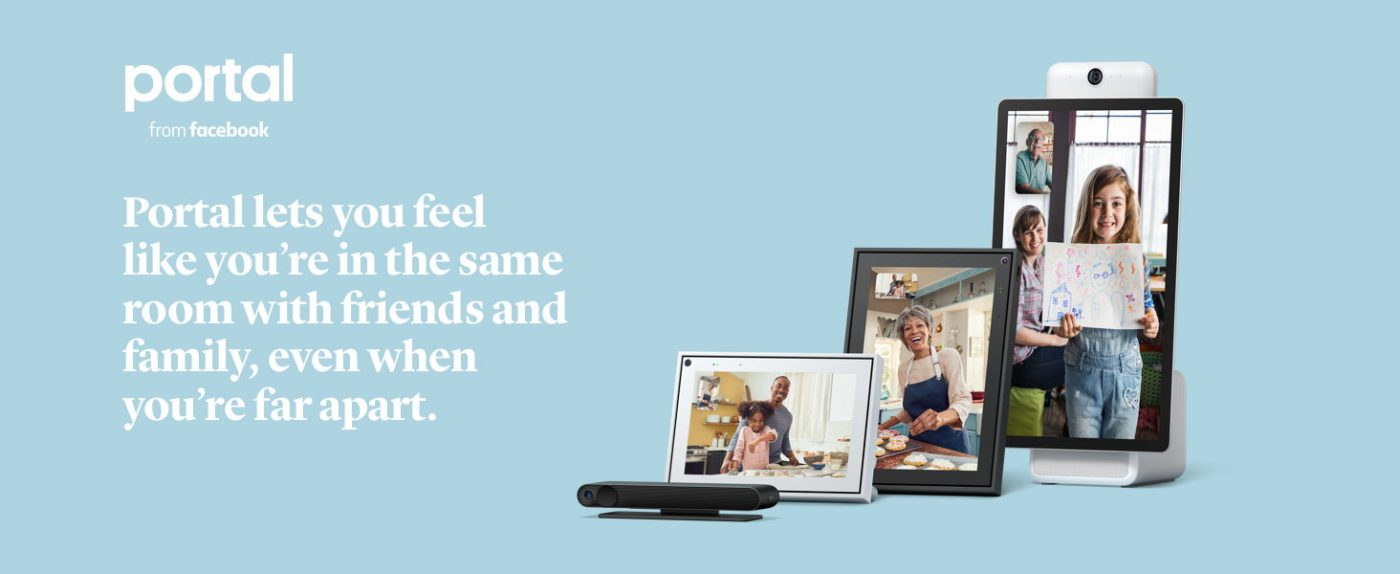 """Facebook Portal Smart Video Calling 10"""" Touch Screen Display with Alexa Black"""