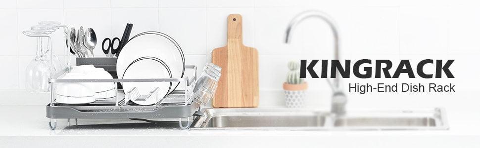 KingRack Aluminum Dish Drying Rack - New Version