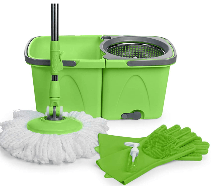 SoftSpin Spin Mop and Bucket