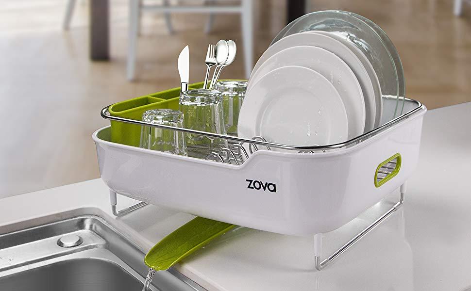 Zova Premium Stainless Steel Dish Drying Rack By Mr. Siga