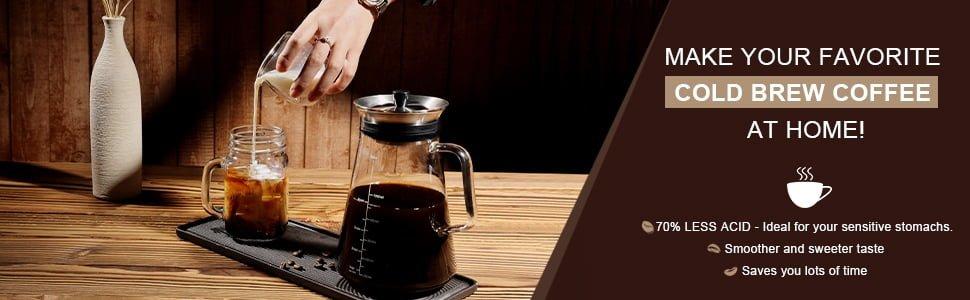 Airtight Cold Brew Coffee (Iced Tea) Maker