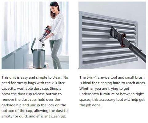 Black and Decker BDASV102 AIRSWIVEL Ultra-Lightweight Upright Cleaner