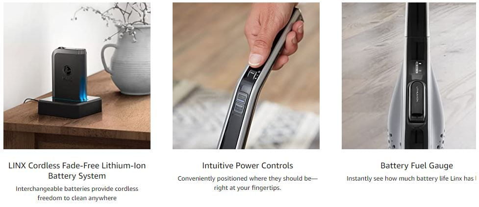 Hoover Link Cordless Stick Vacuum Cleaner