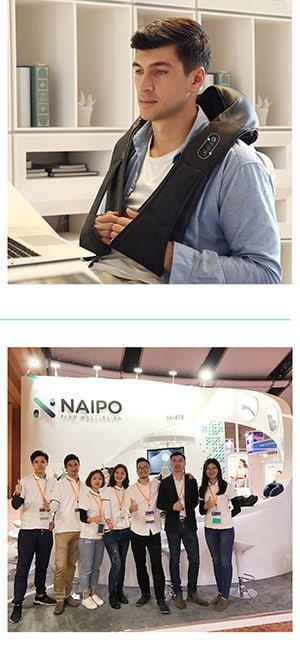 Naipo Shiatsu Back and Neck Massager 5