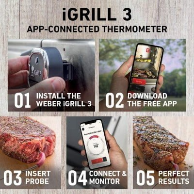 Weber 7204 iGrill 3 Grill Thermometers 3