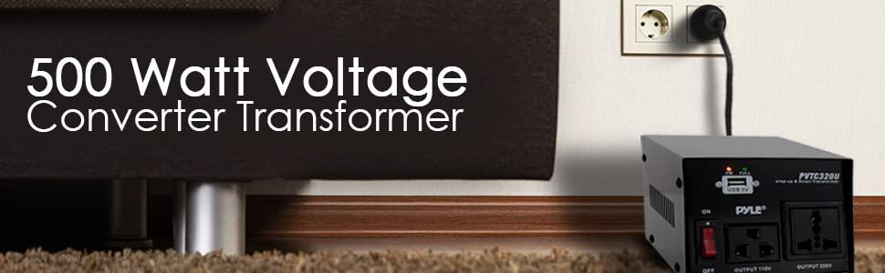 pyle pvtc voltage converter