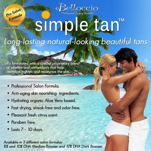 Belloccio Turbo Tan Salon Pro Model 2
