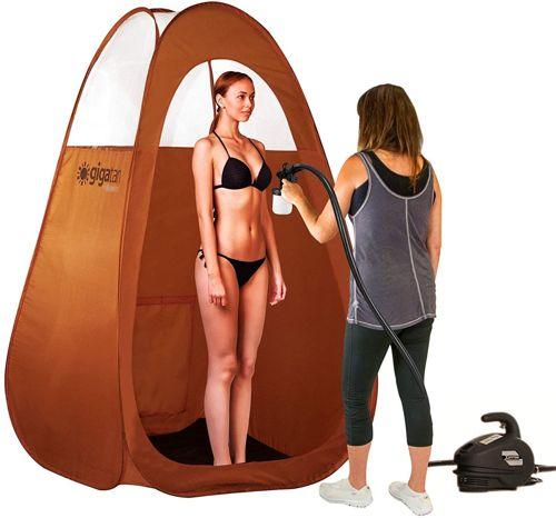 Gigatent Spray Tan Pop Up Tent