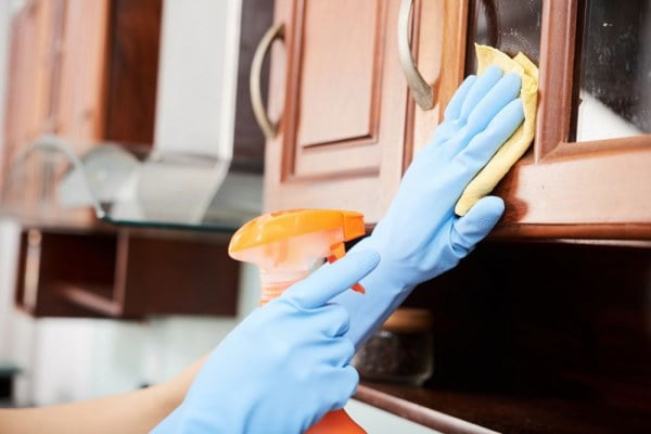 Best Product to Clean Kitchen Cabinets