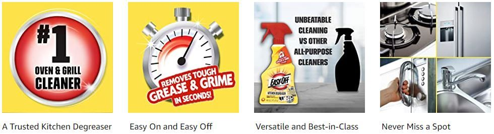 Easy Off Specialty Kitchen Degreaser Cleaner 1