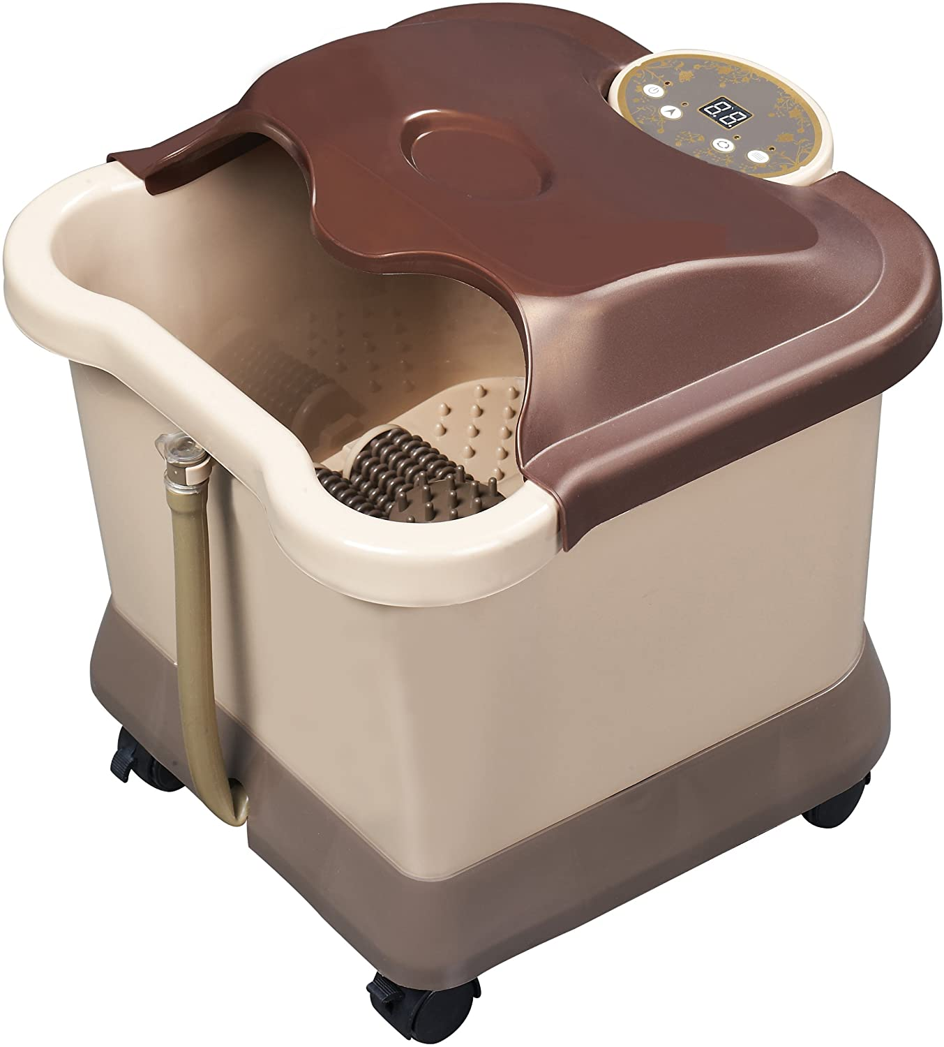 Carepeutic Deluxe Motorized Foot and Leg Spa Bath Massager